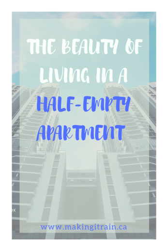 half empty apartment